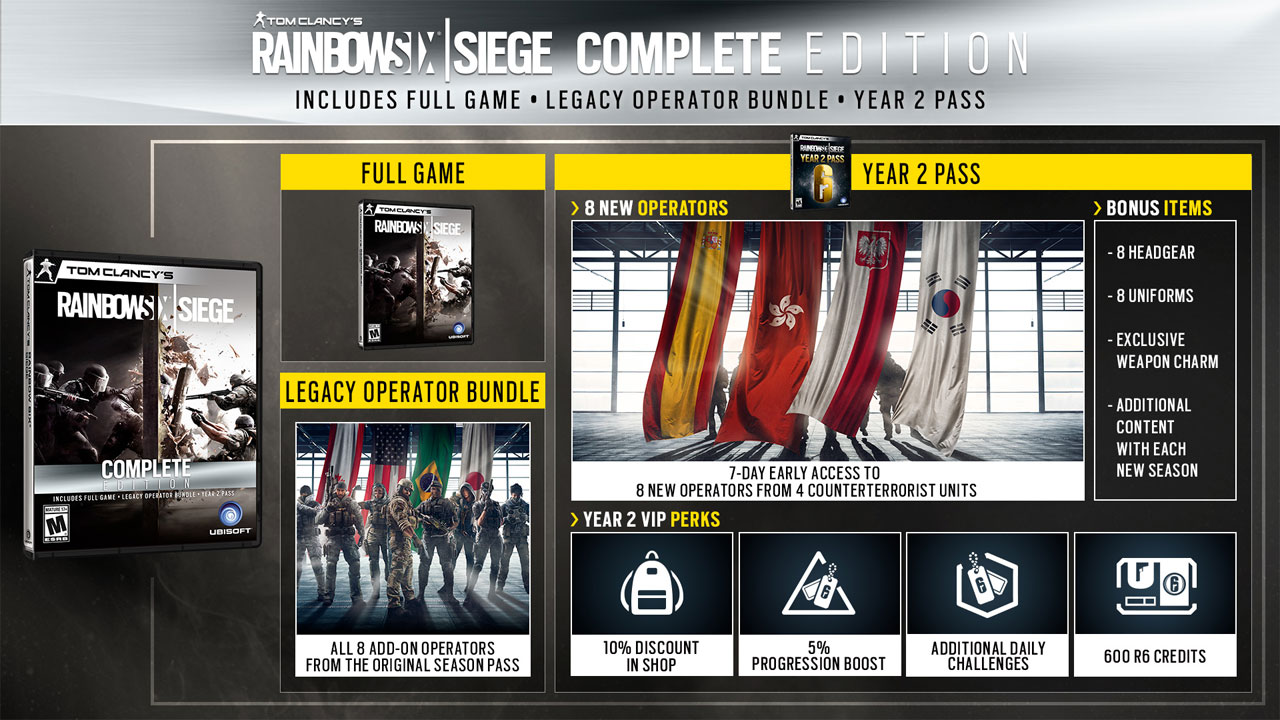 Rainbow Six Siege Complete Edition