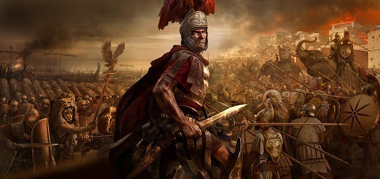 General Hannibal will be facing some @#$% off Romans in Total War: Rome II