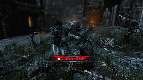Shadow of Mordor Captain Execution
