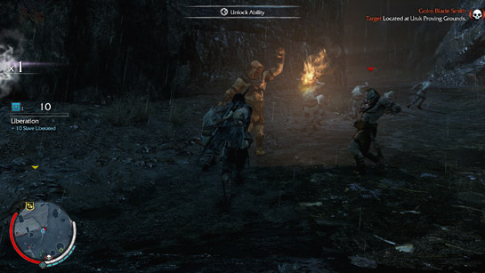 Shadow of Mordor Combat