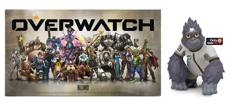 Overwatch Pre-Order Bonus from Best Buy and GameStop