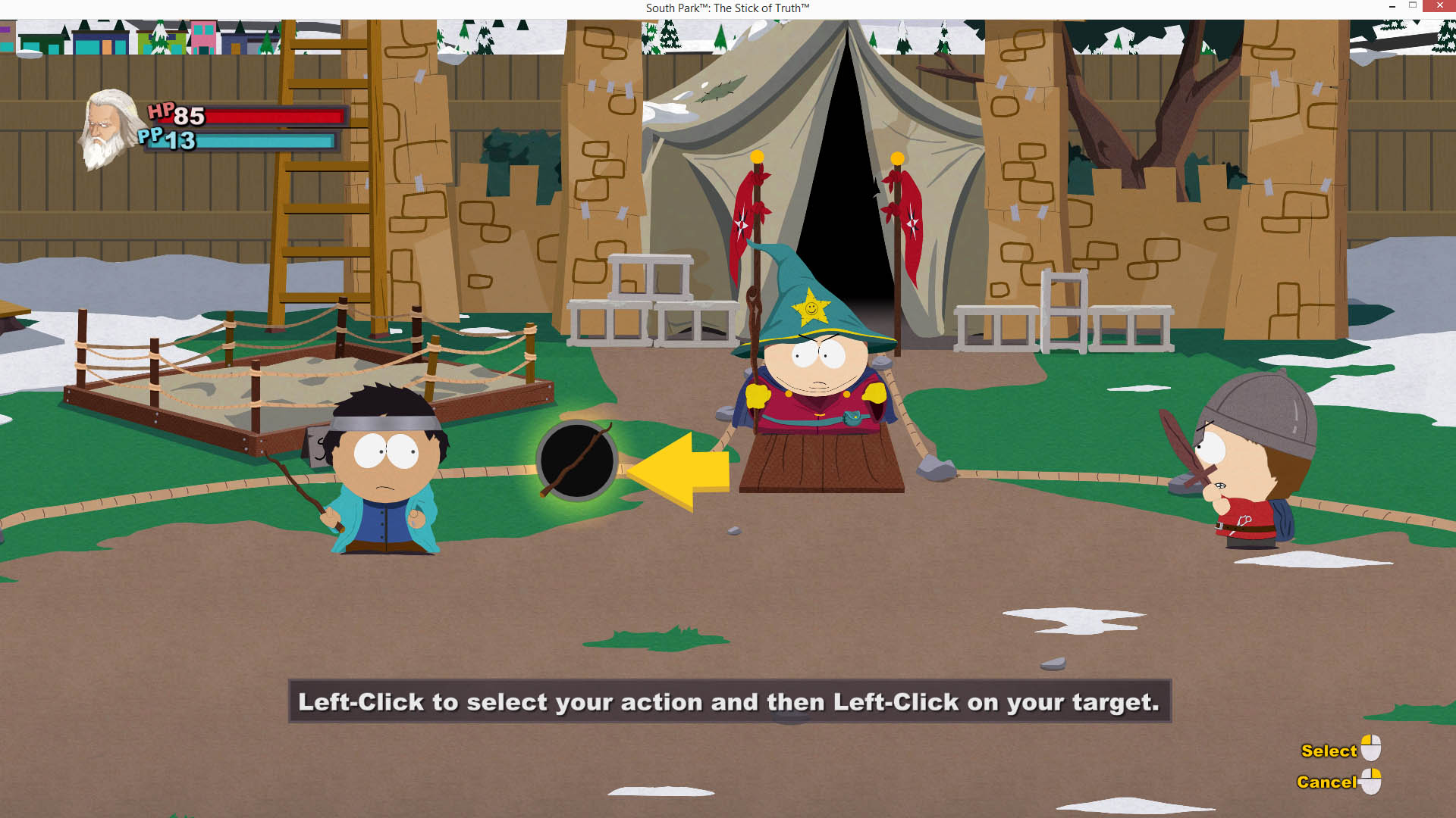 South Park Stick of Truth Intro Tutorial