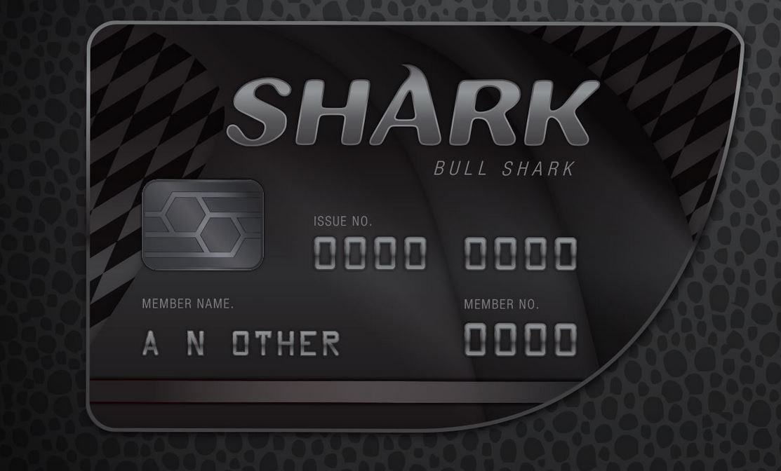 gta v bull shark card xbox one